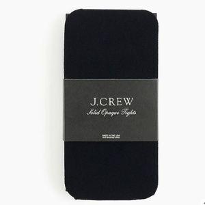 J. Crew Opaque Tights